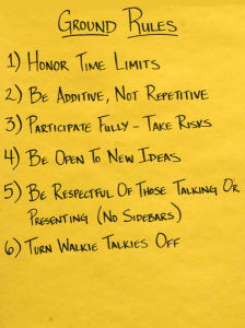 Examples of Ground Rules  Tips for Facilitators - Best Practices